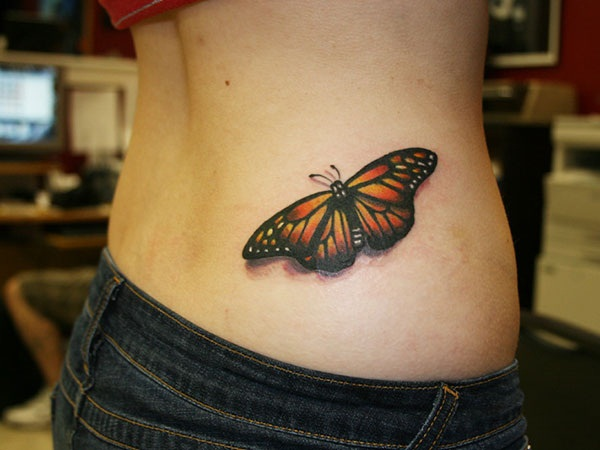 Cute Butterfly tattoo designs61