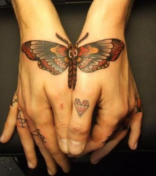 Cute Butterfly tattoo designs62