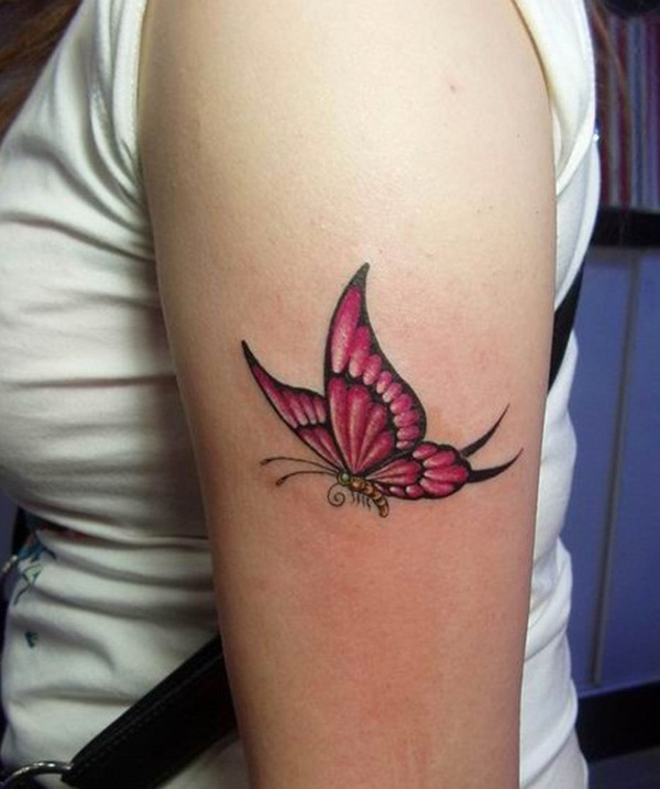 Cute Butterfly Tattoos For Girls