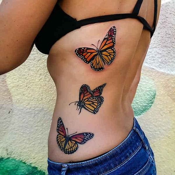 Cute Butterfly tattoo designs7