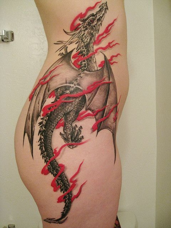 Dragon tattoo designs for women and men24