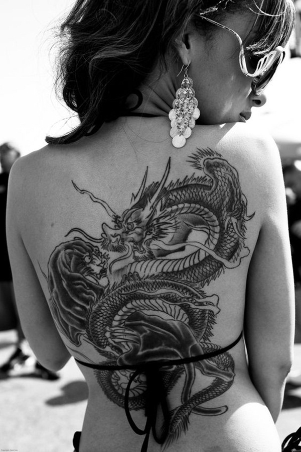 Dragon tattoo designs for women and men33