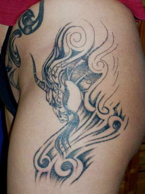 Dragon tattoo designs for women and men35