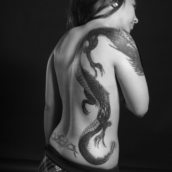 Dragon tattoo designs for women and men49