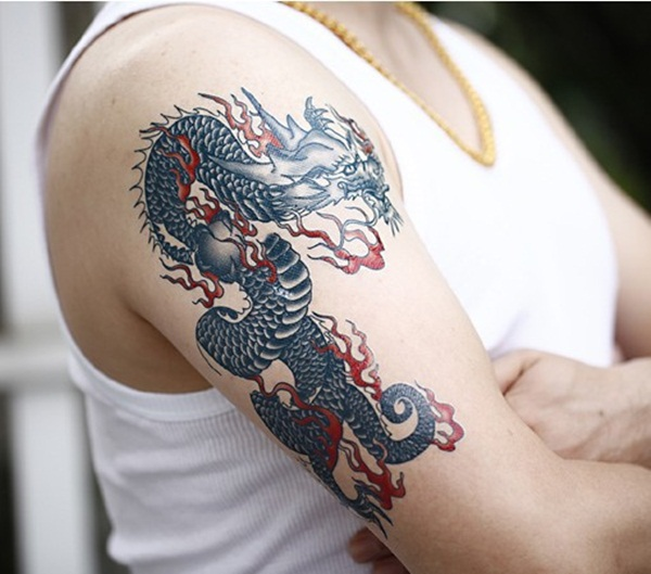 Dragon tattoo designs for women and men66