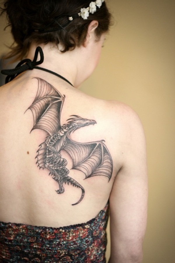 Dragon tattoo designs for women and men69