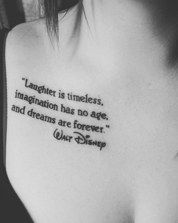 Quotes About Tattoos: 101 Best Quote Tattoo Designs For Boys And Girls