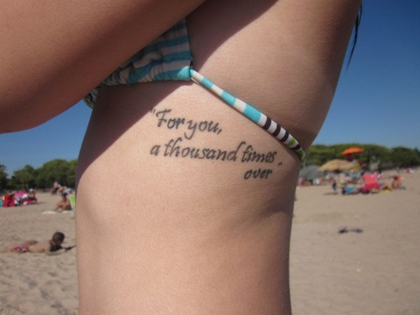 Quote tattoo designs for boys and girls35
