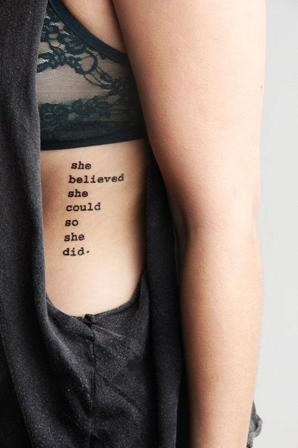 Quote tattoo designs for boys and girls50