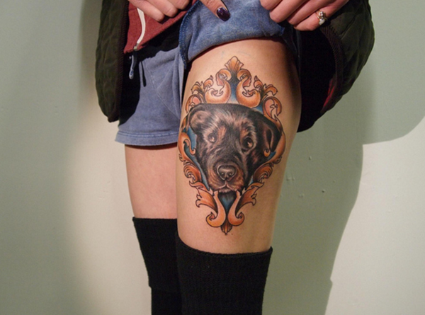 Thigh tattoo designs for girls4