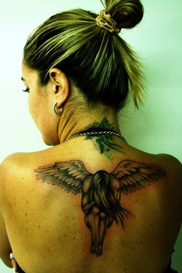 Angel tattoo designs and ideas10