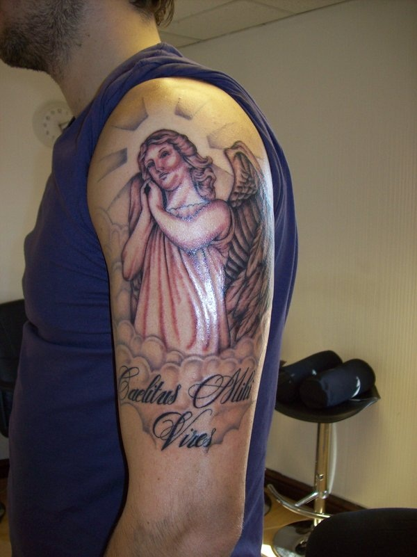 155 Best Angel Tattoo Designs That Will Make You Fall In Love