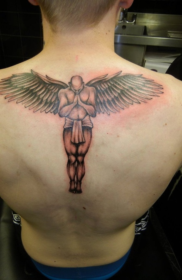 Angel tattoo designs and ideas17