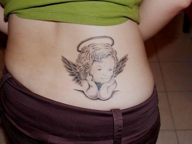 44f75d24e 155+ Best Angel Tattoo Designs That Will Make You Fall in Love