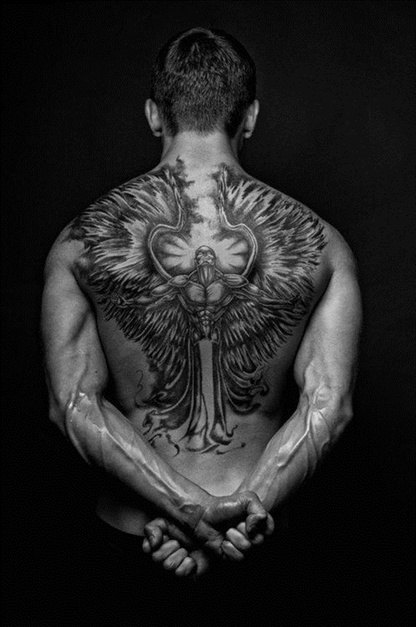 Angel tattoo designs and ideas19