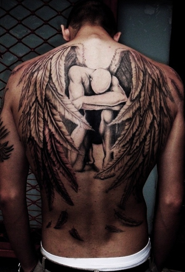 Angel tattoo designs and ideas2