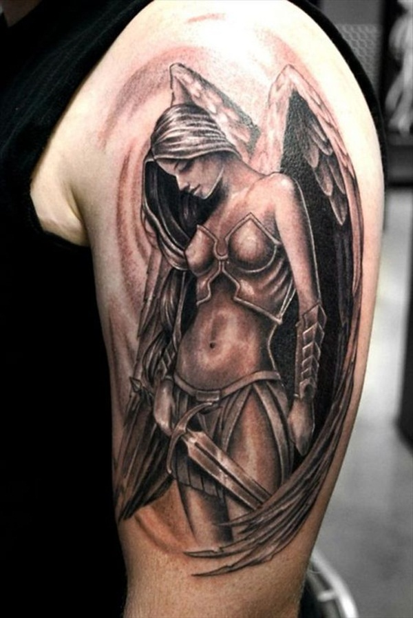 Angel tattoo designs and ideas23