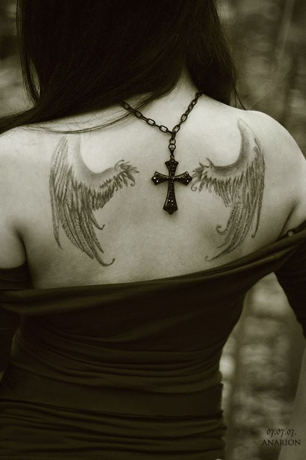 Angel tattoo designs and ideas57