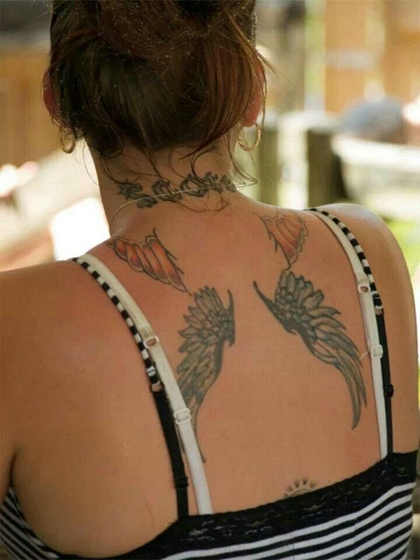 Angel tattoo designs and ideas58