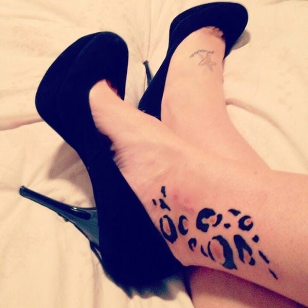 Ankle tattoo designs 13