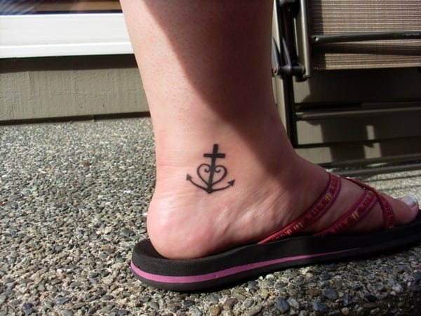 Ankle tattoo designs 16