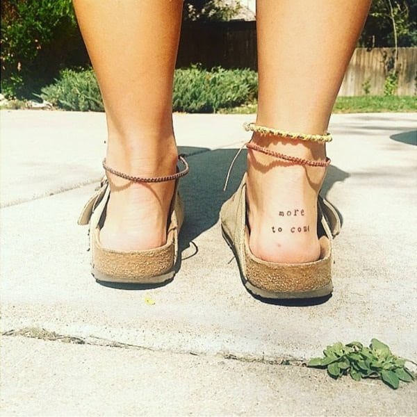 Ankle tattoo designs 18