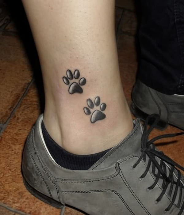 Ankle tattoo designs 19