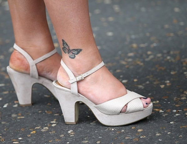 Ankle tattoo designs 24