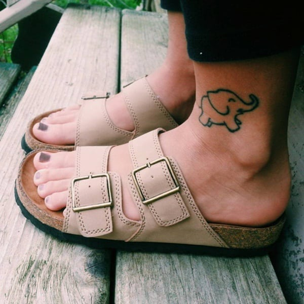Ankle tattoo designs 33