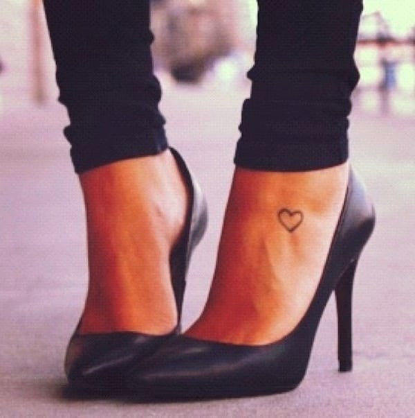Ankle tattoo designs 37