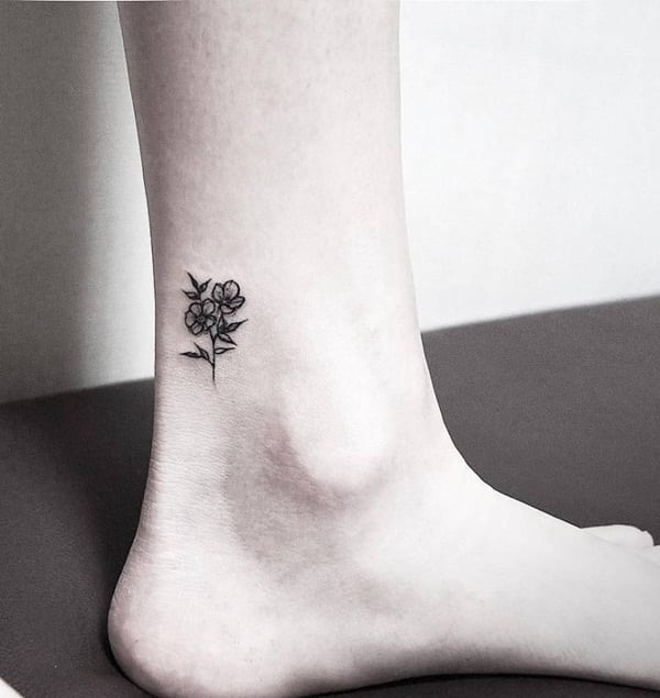 Ankle tattoo designs 39