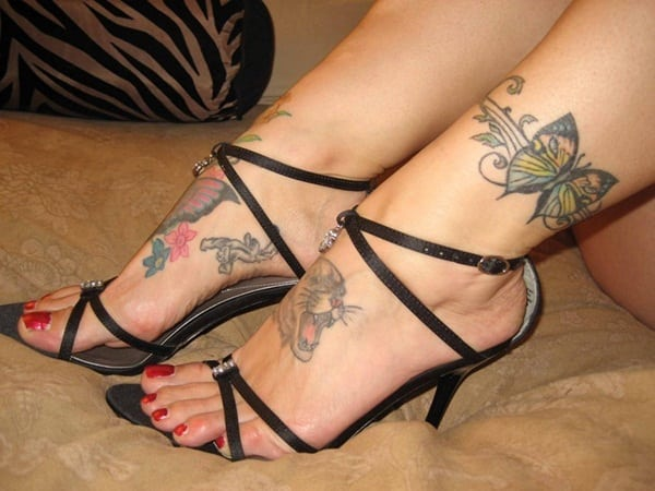 Ankle tattoo designs 46