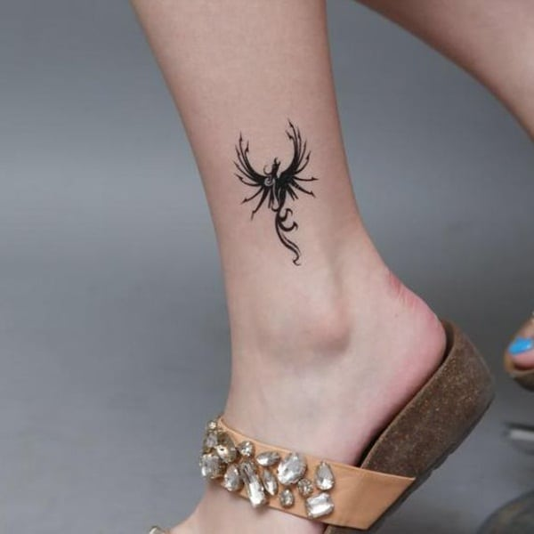 Ankle tattoo designs 62