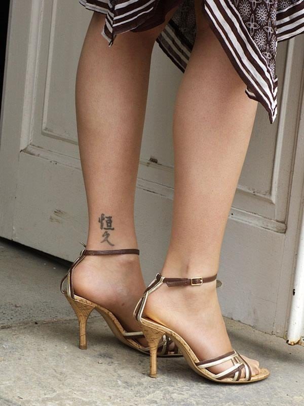 Ankle tattoo designs 63