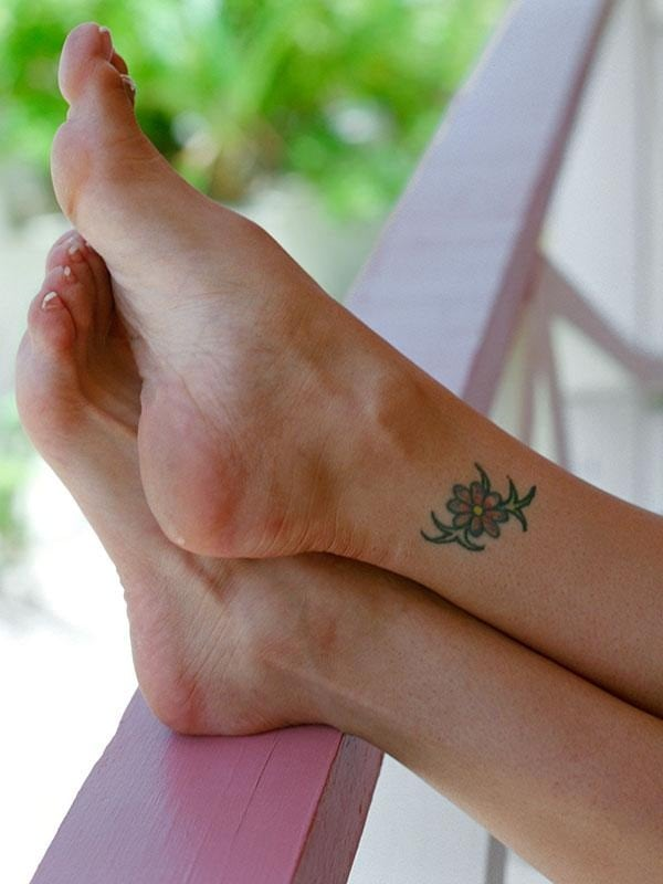 Ankle tattoo designs 70