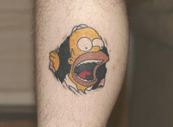 Cartoon Characters Tattoos : Cartoon tattoo designs for lovers selected