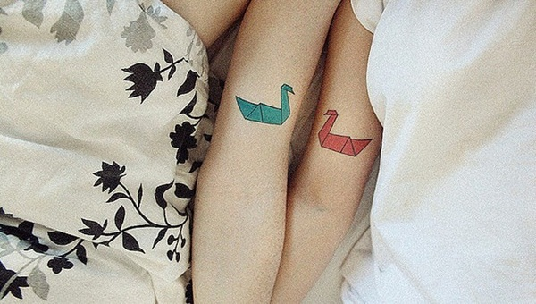 Couple Tattoo Designs 19