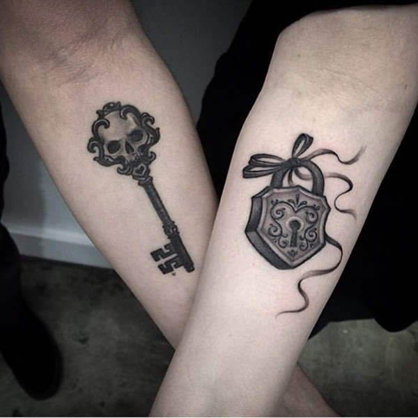 Couple Tattoo Designs 36
