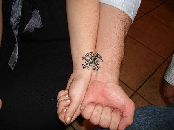 Couple Tattoo Designs 5