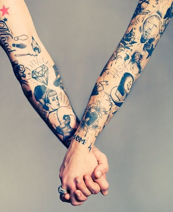 Couple Tattoo Designs 51