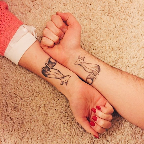 Couple Tattoo Designs 53