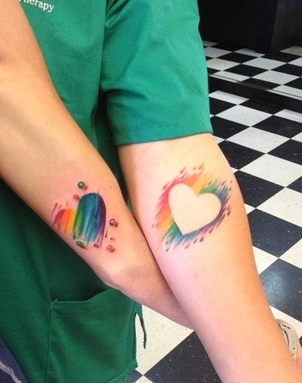 Couple Tattoo Designs 67