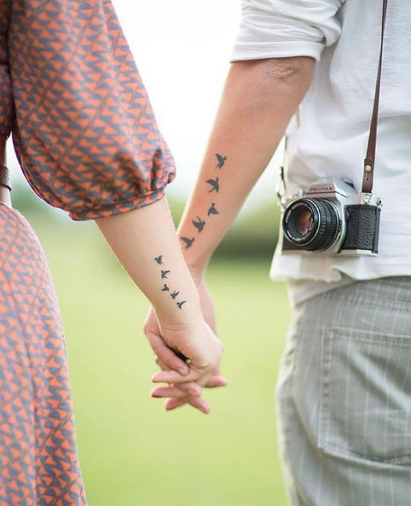 Couple Tattoo Designs 68