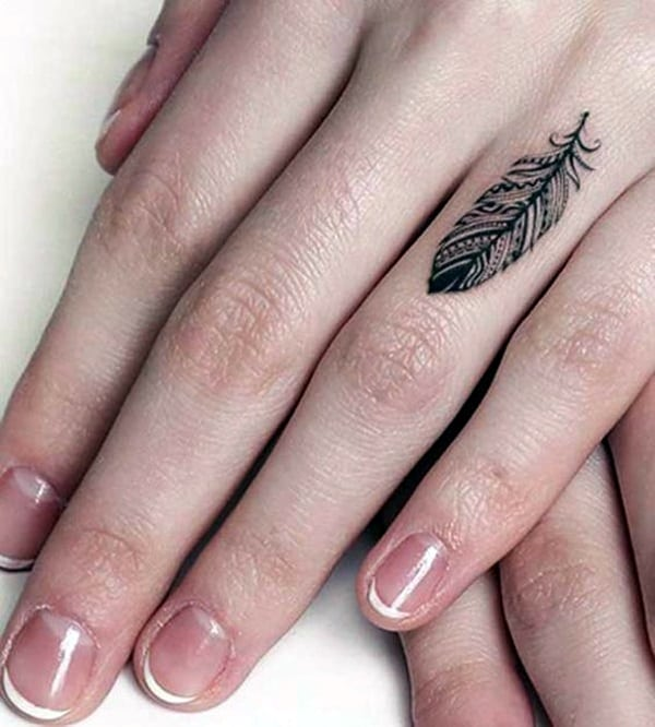 101 cute finger tattoos designs your mom will also allow. Black Bedroom Furniture Sets. Home Design Ideas