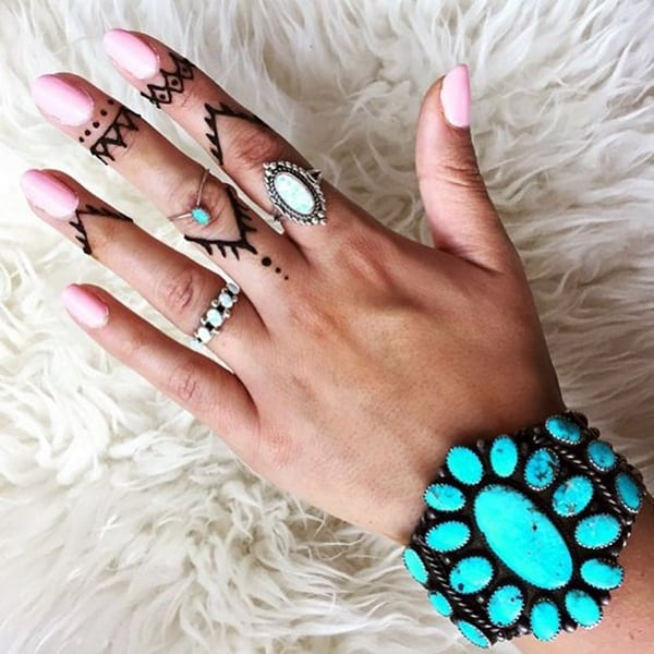 Cute Finger Tattoos Designs (15)