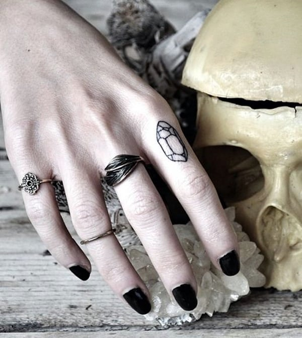 Cute Finger Tattoos Designs (22)