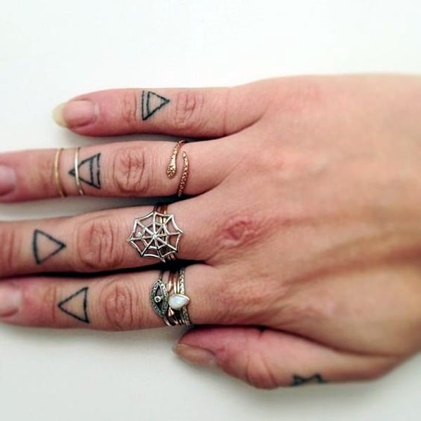 Cute Finger Tattoos Designs (36)