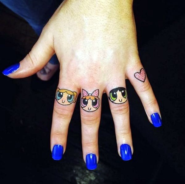 Cute Finger Tattoos Designs (46)