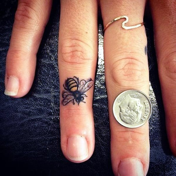 Cute Finger Tattoos Designs (5)