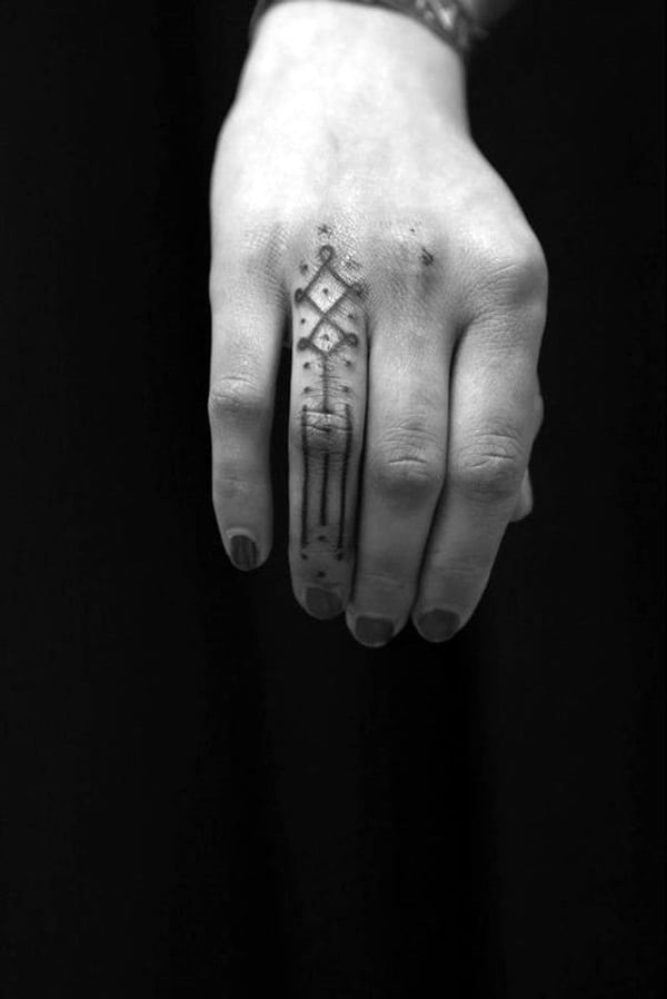 Cute Finger Tattoos Designs (60)
